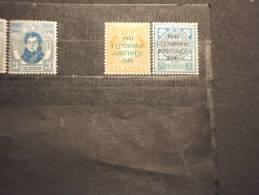 IRLANDA - 1941 INSURREZIONE 2 Valori SOPR. - NUOVI(++) - 1937-1949 Éire