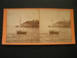 Photo -photographie -vue Stéréoscopique -stereo- Ref17-belle Ile En Mer - Morbihan - - Stereoscopic