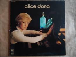 ALICE DONA  - VINYLE 33 T - PATHE 2C066-97.421 - Autres - Musique Française