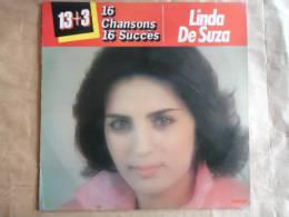 LINDA DE SUZA / 16 CHANSONS 16 SUCCES // 13+3 LP 33 T. - Autres - Musique Française
