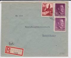 POLOGNE (GOUVERNEMENT GENERAL) - 1942 - ENVELOPPE RECOMMANDEE De ROHATYN Pour BERESCHANY - 1939-44: 2. WK