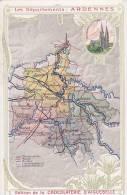 ¤¤  - Carte Publicitaire De La Chocolaterie D'Aiguebelle  -  Département Des ARDENNES   -   ¤¤ - Vieux Papiers