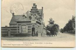 ENVIRONS DE BERGUES  -  Route De Socx, La Croix-rouge. - Bergues