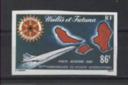 Wallis & Futuna Rotary/Concorde 1980 Mi#368B MNH - Rotary, Lions Club