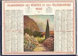 ALMANACH  DES POSTES ET DES TELEGRAPHES( 1941)   Vieux Mas Provençal - Calendriers