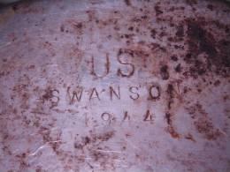 Gourde US SWANSON 1944, En Inox - 1939-45