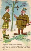 TERRAZ -  Humour Militaire - Troupe Franco Britannique  (47731) - Illustrators & Photographers