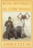 CPM AMBLETEUSE 62 MUSEE HISTORIQUE DE LA 2 EME GUERRE MONDIALE TELEGRAPHISTE ALLEMAND ARTILLERIE COTIERE - Otros Municipios