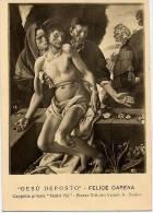 Torino - Santino Cartolina Antica GESU' DEPOSTO (Felice Carena), Galleria Nazionale - E43 - Religione & Esoterismo