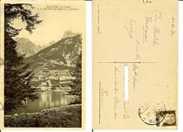 Molveno (Trento): Molveno Al Lago E Il Gruppo Di Brenta. Cartolina Fp Viaggiata 1930 - Trento