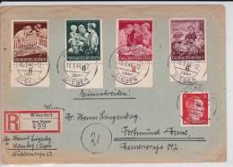 III° REICH - 1944 - ENVELOPPE RECOMMANDEE De WILNSDORF Ü. SIEGEN - Alemania