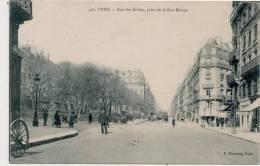 Paris Rue Des  écoles Prise De La Rue Monge - Arrondissement: 05