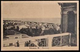1949 FALCONARA MARITTIMA PANORAMA FG V 2 SCAN ANNULLO AMBULANTE LIEVE PIEGA - Italia