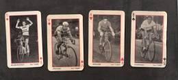 Lot 4 Photo S Sur Carte S à Jouer :  Coureur Cycliste ( Cyclisme )( Voir état-description ) - Wielrennen