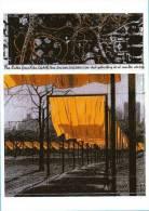 CPM1999, New York City, Central Park, The Gates, Christo / Trees / Arbres, Tissus, Voilages / Non écrit - Central Park