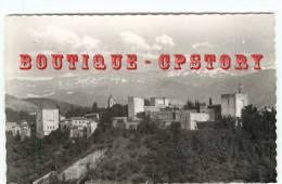 ESPANA - GRANADA - La Alhambra Y Sierra Nevada - Spain - Espagne - Dos Scané - Granada