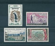 Timbres De 1960 N°1253 A 1256  Neuf ** Parfait Sans Charnières - France