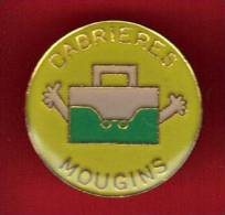 25096-pin's Cabrières.Mougins. .alpes Maritimes. - Cities