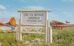 Lac La Ronge Airfield /airport , LA RONGE , Saskatchewan , Canada , 1950-60s - Saskatchewan