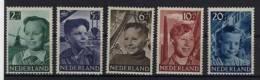 Niederlande Michel No. 575 - 579 ** postfrisch