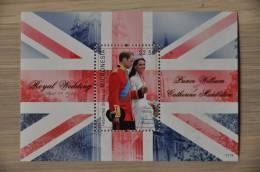 M1 ++ MICRONESIA 2011 ROYAL WEDDING WILLIAM CATHERINE MIDDLETON POSTFRIS MNH NEUF ** - Micronesië