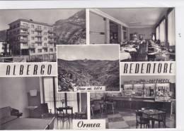 CARD  ORMEA ALBERGO REDENTORE CON VEDUTINE    (CUNEO)      -FG-N-2---0882-14306 - Andere Steden