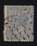Effigie De Leopold Ier 1849  - 1866 - Postes 30 Cent - Afgestempeld - Horodaté - 1865-1866 Profil Gauche