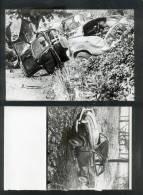 4779 - Photo De PRESSE, Accident De  DAUPHINE  (2 Clichés) Dont 1 Avec Négatif - Non Classés