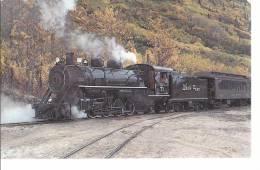 18588) Canada White Pass & Yukon Railway Steam Locomotive Train Railroad See Others - Yukon