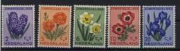Niederlande Michel No. 607 - 611 ** postfrisch