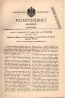 Original Patentschrift - S. Bamford In Uttoxeter , England , 1901 , Maschine Für Heu , Klee Und Getreide , Heuwender !!! - Tools