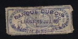 Leopold II -Payable En Belga - Effet Crée A L'Etranger 0 A 200 - 10Cs - 1883 Léopold II