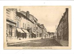 CPA   51 Marne Sainte Menehould  Rue Chanzy Circulé 1918  TBE - Sainte-Menehould
