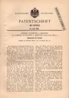 Original Patentschrift - S. Sutcliffe In Ashton Under Lyne Und Halifax , 1901 , Spahnpresse Für Gewebe !!! - Tools