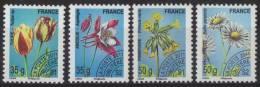 Préos 259 à 262 Ancolie Et Tulipe 35g - Pâquerette Et Primevère 50g (2011) Neuf** - Precancels