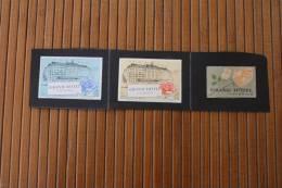 3 étiquettes SEITA  Grand Hôtel Tabac (objets Liés) >Boites D´allumettes Sté Nale Expltion Indus Cigarettes Tobaco - Boites D'allumettes - Etiquettes