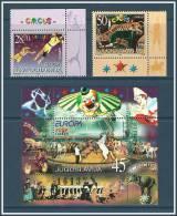 Yugoslavia 2002 ( Europa CEPT - Art - Trained Horse Act. ) - MNH (**) - 2002