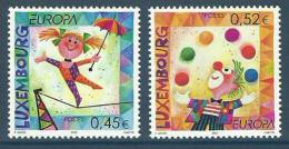 Luxembourg 2002 ( Europa CEPT - Tightrope Walker / Clown ) - MNH (**) - 2002