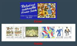 France 1994 ( Booklet Pane - French-Swedish Cultural Relations ) - MNH (**) - France