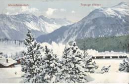 Winterlandschaft  CPA 1909 Suisse  Aarau - AG Aargau