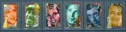 France 1994 ( Stage And Screen Personalities ) - Complete Set - MNH (**) - France