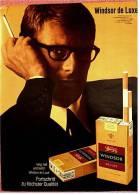 Reklame Werbeanzeige  -  Windsor De Luxe - Fortschritt Zu Höchster Qualität -  Von 1969 - Reklame