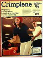 Reklame Werbeanzeige  -  Crimplene - Eine Weltfaser Von ICI -  Von 1969 - Reklame