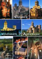 63 Eglises Romanes D'Auvergne,Vierge Noire Marsat,Notre Dame Port,Issoire,Brioude,St Nectaire,Orcival,St Saturnin,Enneza - France