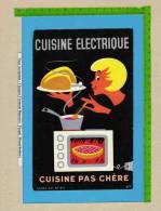 BUVARD  : Cuisine Electrique  Cuisine Pas Chere   Signe BOB - Electricité & Gaz