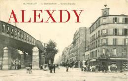 (CS) NEW  PARIS XV *** MARCHAND DE GLACES AMBULANT STATION DE METRO DUPLEIX *** RUE VIALA & BOULEVARD DE GRENELLE 1906 - Distrito: 15