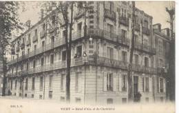 03- Vichy - Hôtel D'Aix Et Chambéry -Hôpital Temporaire Militaire N°48(ann.)du 16 Août 1914 Au 11 Sept 1916 -TTB(2scans) - Vichy