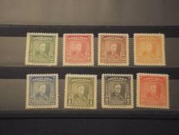 COSTA RICA - P.A. 1947 ROOSEVELT 8 Valori - NUOVI(++)-TEMATICHE - Costa Rica