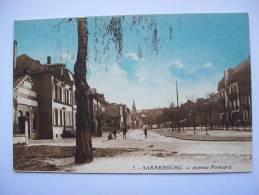 Ma Réf: 63-14-44.              SARREBOURG    Avenue Poincaré.    ( Colorisée ). - Sarrebourg