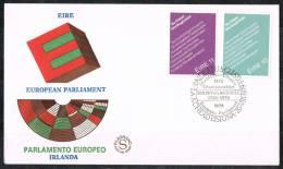 638-FDC Filigrano Irlanda 1979 EIRE European Parliament - FDC